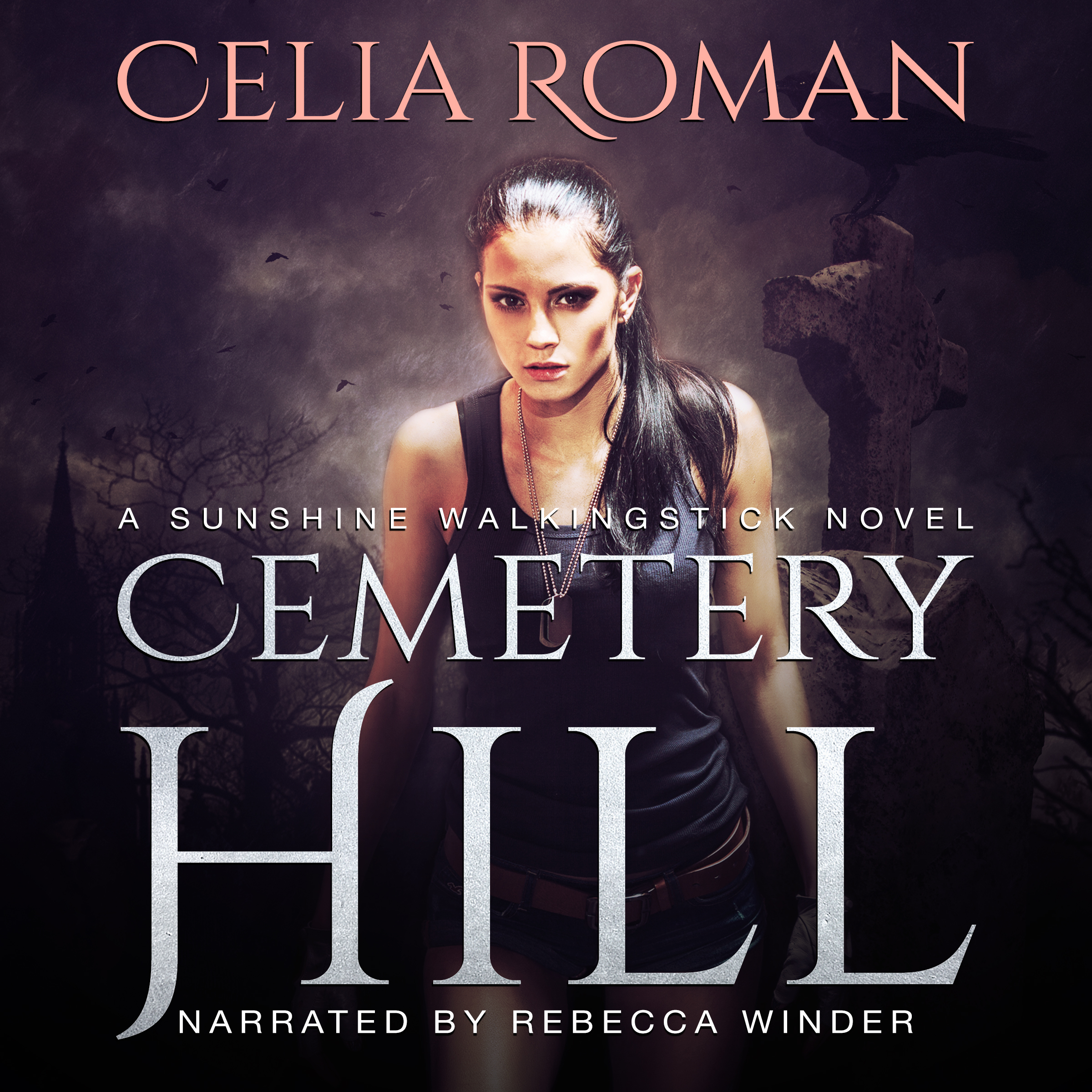 Cemetery Hill (Sunshine Walkingstick, Book 3) by Celia Roman